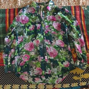 Floral Blouse From Nordstrom
